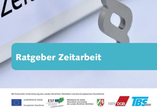 Flyer Zeitarbeit und Werkverträge jetzt auf 7 Fremdsprachen verfügbar